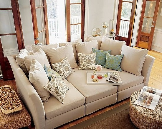 Three-piece sectional