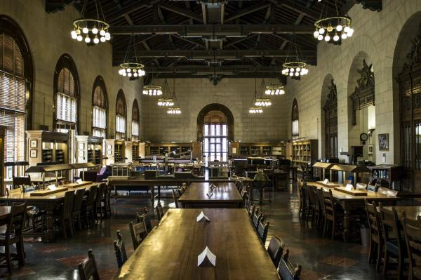 UT Architecture & Planning Library - Battle Hall