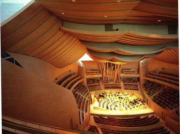 Walt Disney Concert Hall, LA