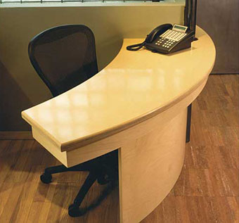 Lacquer Office Desk