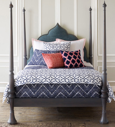 Replace the bedding, dress your bed in soft and fun new duvet cover.