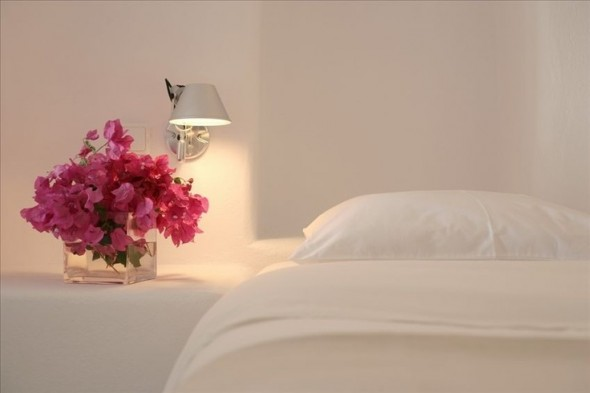 Every Bedroom should have flowers – Preferably fresh.