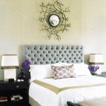 Give your bedroom a new look with a headboard.