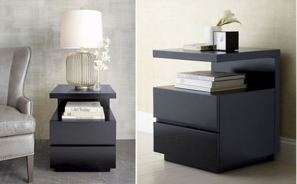 Give your nightstand a fresh look, cut the clutter.