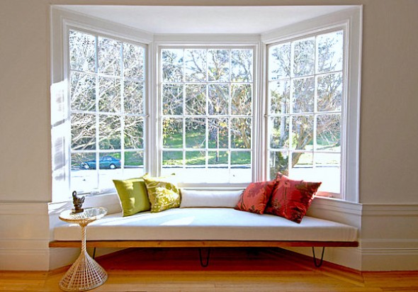 Easy Home Decorating Ideas- Window Seating