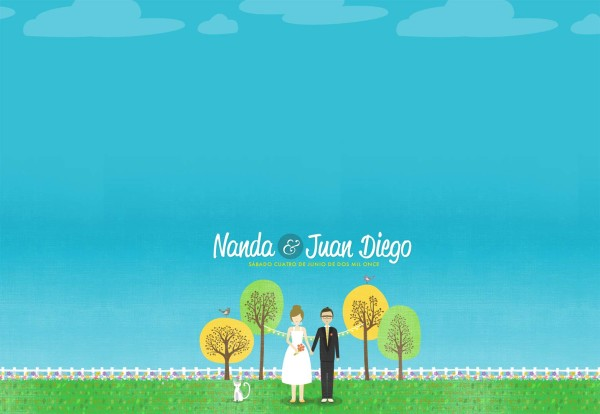 Nanda and Juan Diego