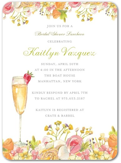 Bridal Shower Invitation 1