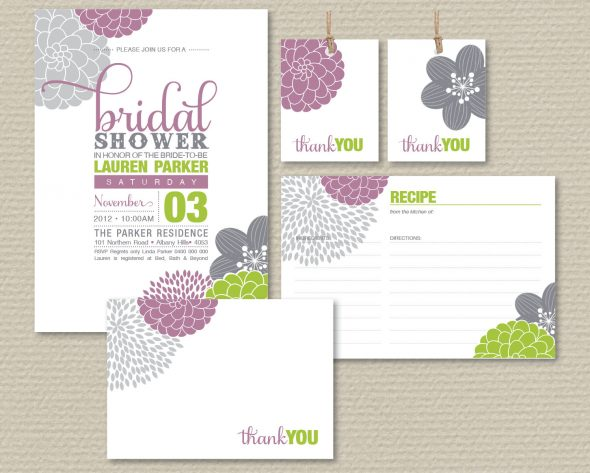 Bridal Shower Invitation 11
