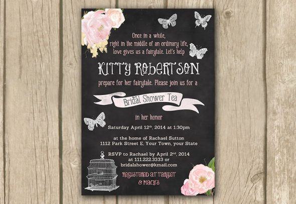 Bridal Shower Invitations 18