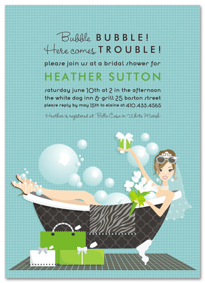 Bridal Shower Invitation 19