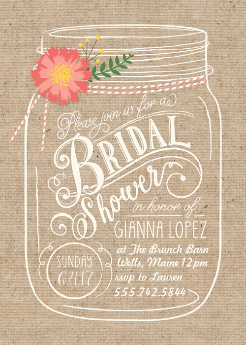 Bridal Shower Invitations 20