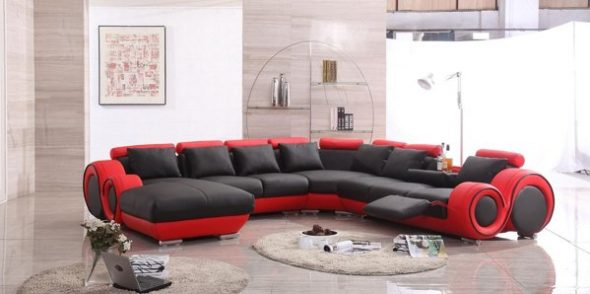 Chaise Lounge Sectional Sofa