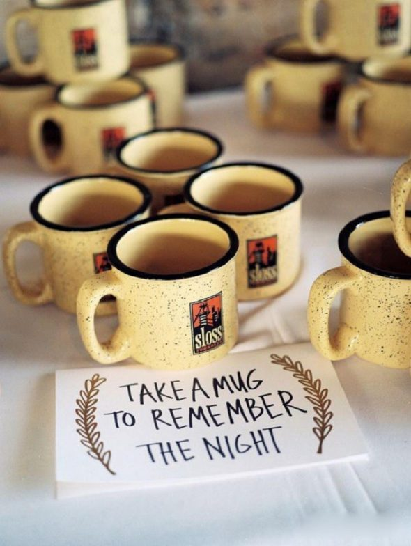 Wedding Favors - TEA MUG