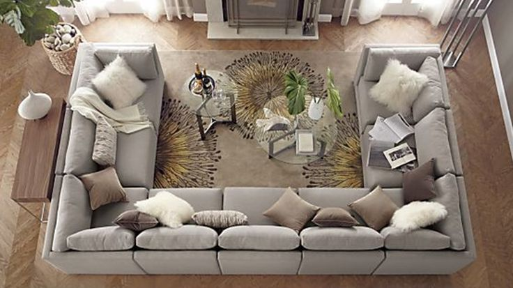 U-shaped Sectional Sofa : large u shaped sectional sofas - Sectionals, Sofas & Couches