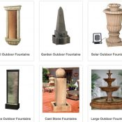 Solar Fountains For Outdoor