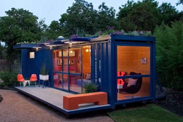 Shipping Containers Housing 1