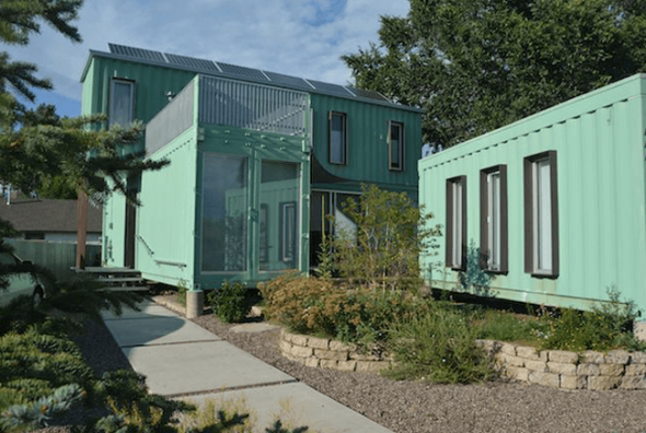 Shipping Containers Housing 2