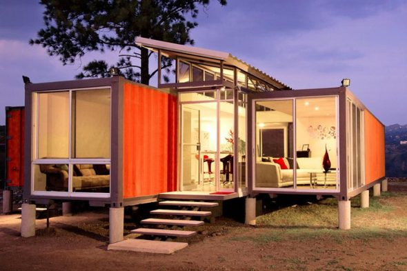 Shipping Containers Housing
