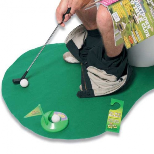 toilet-golf-set