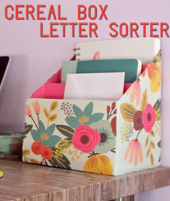 Diy desk organizers for Mini tin mailboxes for crafts