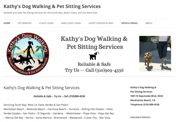 Kathy's Dog Walking & Pet Sitting Services