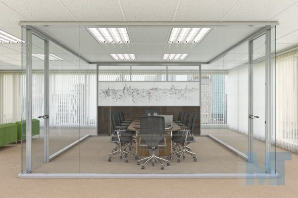 office wall partitions- clearflex 006