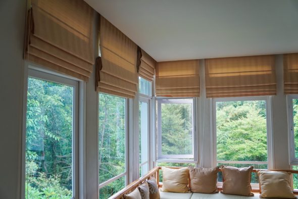 Traditional Roman Shades