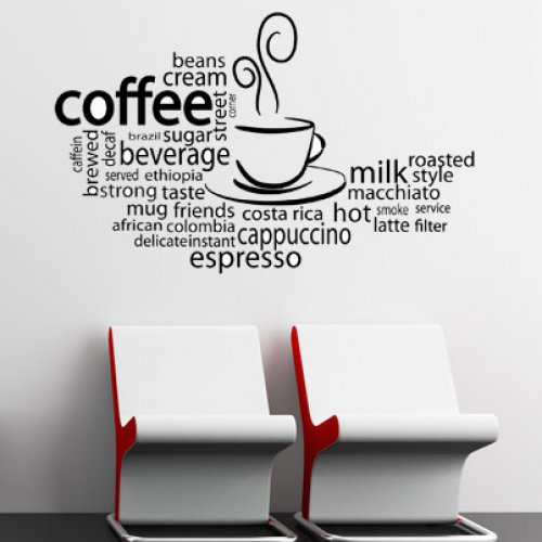 Creative Wall Designs For Coffee Shops Cafe