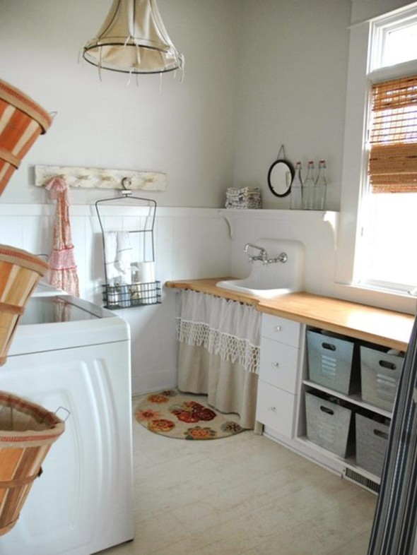 Modern Laundry Room Decor Ideas on Laundry Decoration  id=59539