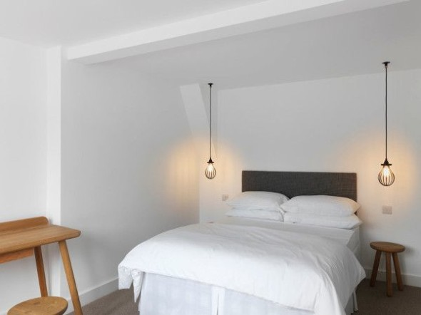 Ceiling Lamps on The Bedside Tables