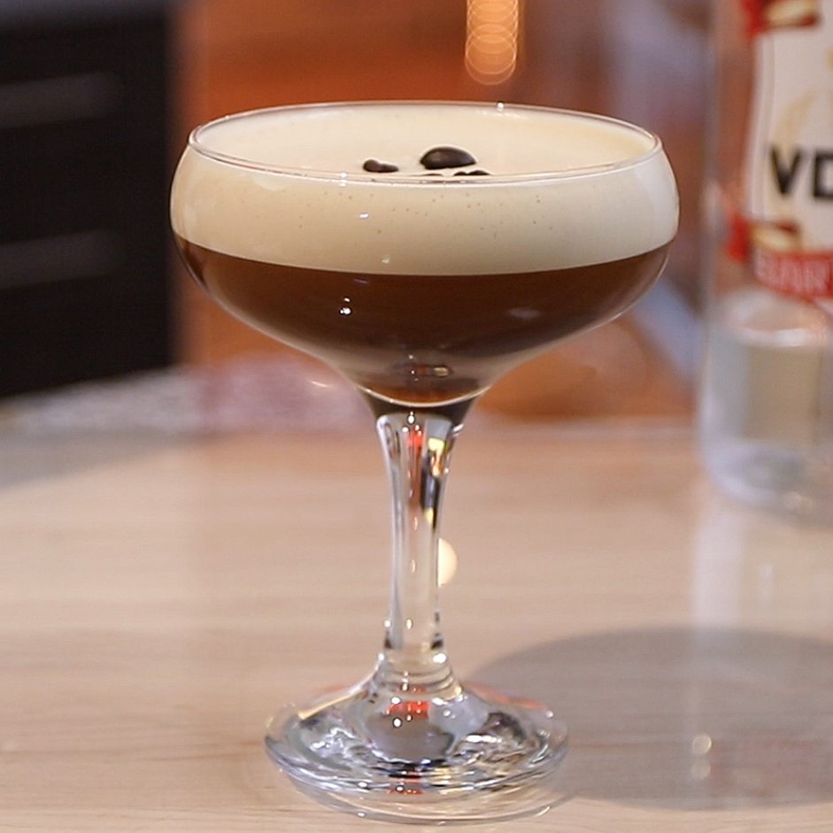Martini with Espresso coffee
